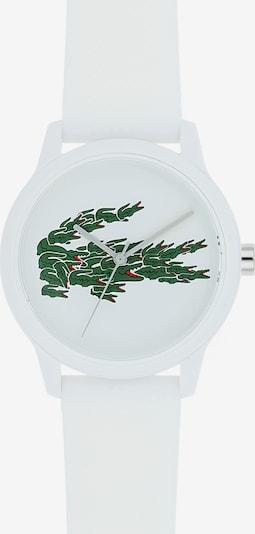 LACOSTE Analoog horloge '12.12 Holiday Capsule' in de kleur Smaragd / Zilver / Wit, Productweergave
