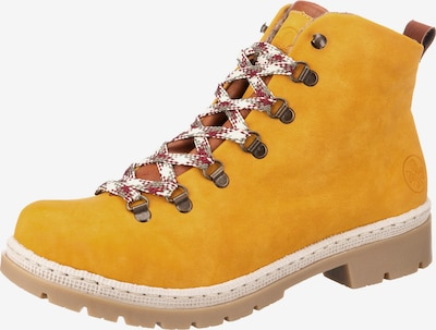 RIEKER Snørestøvletter i honning, Produktvisning