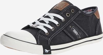 Sneaker bassa MUSTANG di colore nero / bianco, Visualizzazione prodotti