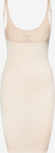MAGIC Bodyfashion Onderjurk in de kleur Beige / Wit, Productweergave