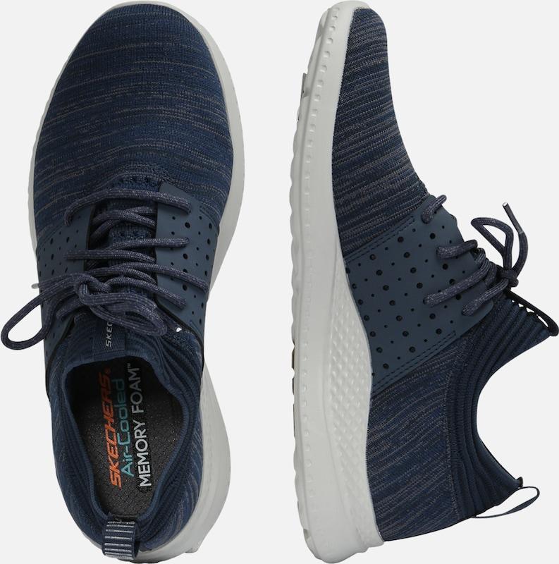 Baskets Marine 'materaKnocto' En Basses Bleu Skechers CordWQEBxe