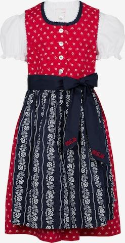 SPIETH & WENSKY Dress 'Fente' in Red