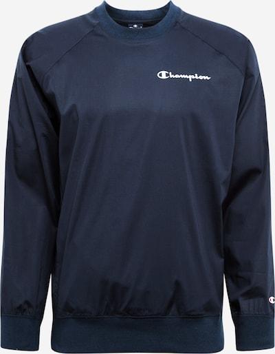Champion Authentic Athletic Apparel T-Shirt en bleu / blanc, Vue avec produit