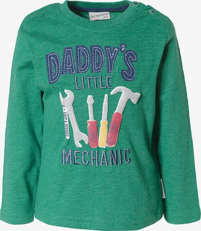 SALT AND PEPPER Shirt in grün / mischfarben, Produktansicht