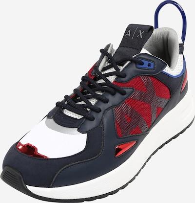 ARMANI EXCHANGE Sneaker in navy / rot / weiß, Produktansicht