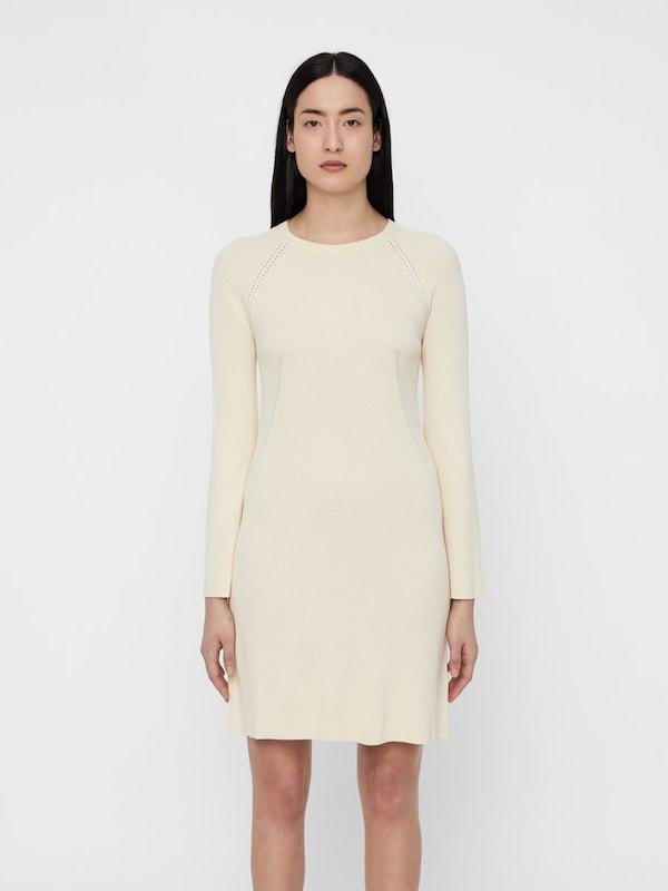 J.Lindeberg Kleid 'Melina' in perlweiß    Markenkleidung für Männer und Frauen 116124
