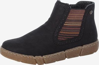 RIEKER Chelsea škornji | mešane barve / črna barva, Prikaz izdelka