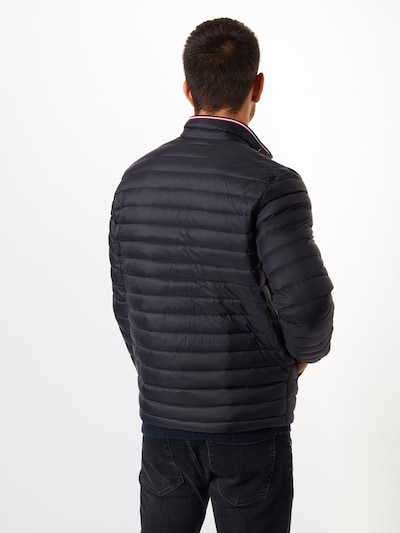 TOMMY HILFIGER Tussenjas 'CORE PACKABLE DOWN JACKET' in de kleur Zwart: Achteraanzicht