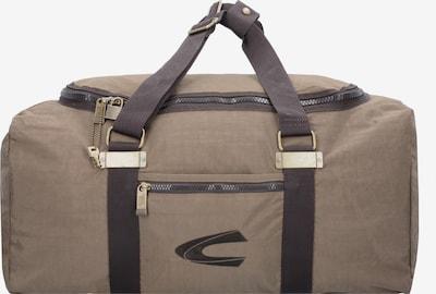 CAMEL ACTIVE Travel Bag in Sand / Dark brown, Item view