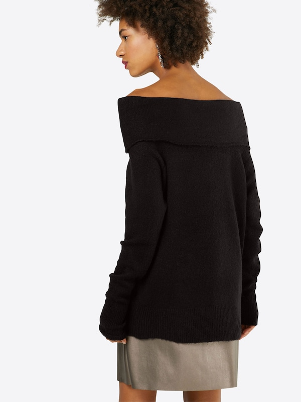 NA-KD Off Shoulder Sweater 'FOLDED WIDE'