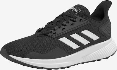ADIDAS PERFORMANCE Sportschuhe 'Duramo 9' in schwarz / weiß, Produktansicht