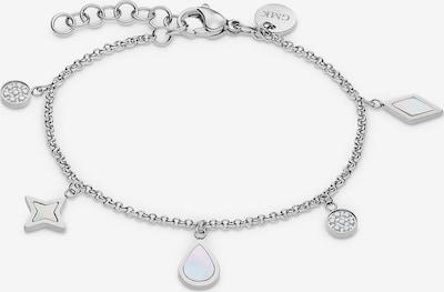 GMK Collection Armband in silber / perlweiß, Produktansicht
