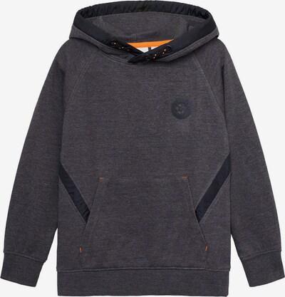 MANGO KIDS Sweatshirt in dunkelgrau / schwarz, Produktansicht