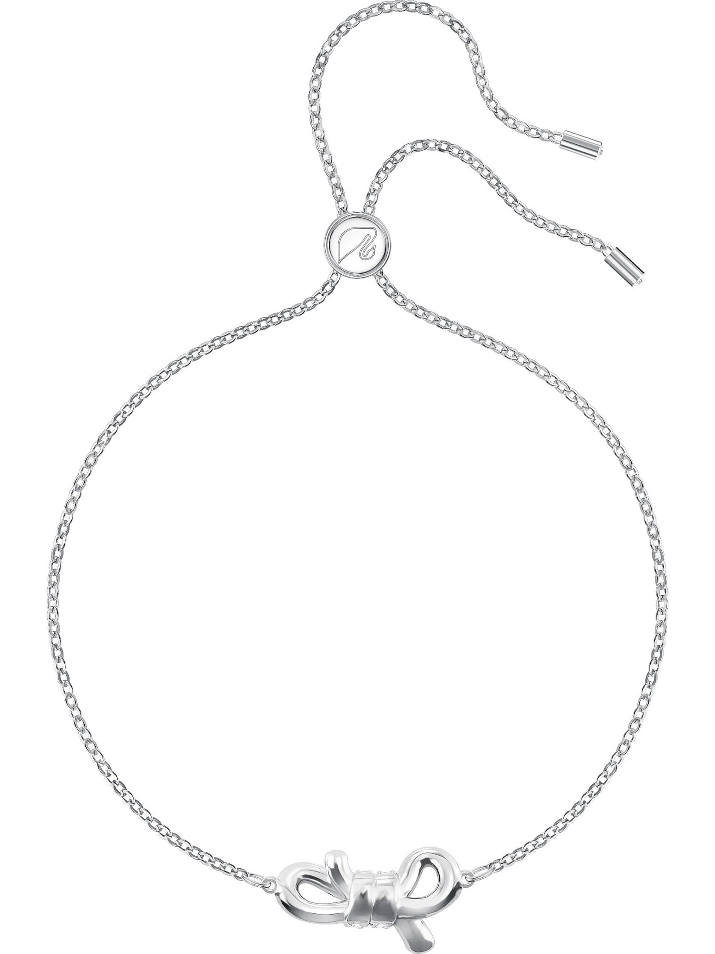 Swarovski Armband In Bow' SilberTransparent 'lifelong ym08ONPvnw