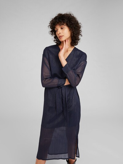 EDITED Kleita 'Georgette' pieejami zils / tumši zils: Priekšējais skats
