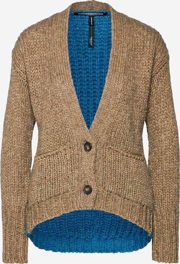 10Days Cardigan in blau / gold, Produktansicht