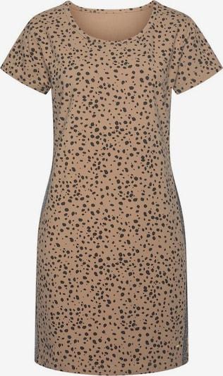 BUFFALO Kleid in beige / schwarz, Produktansicht