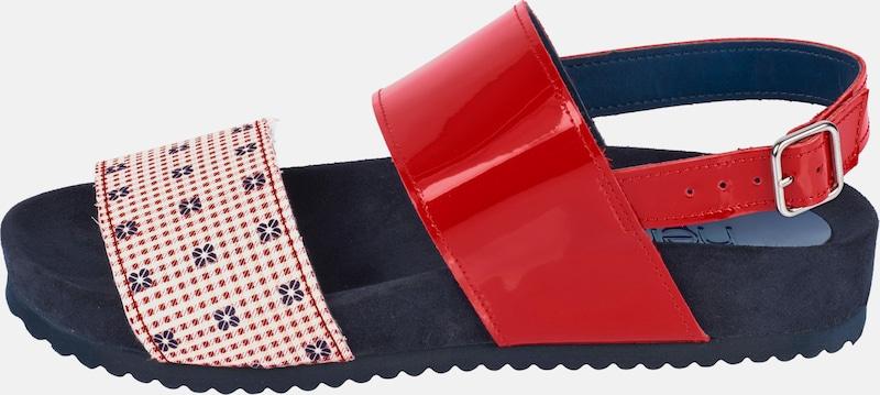 heine Sandalette im Materialmix