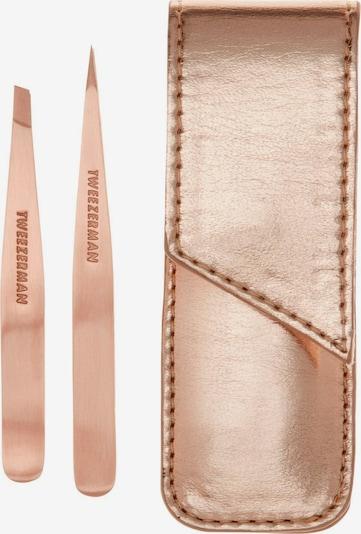 TWEEZERMAN Augenbrauenpinzette in rosa, Produktansicht