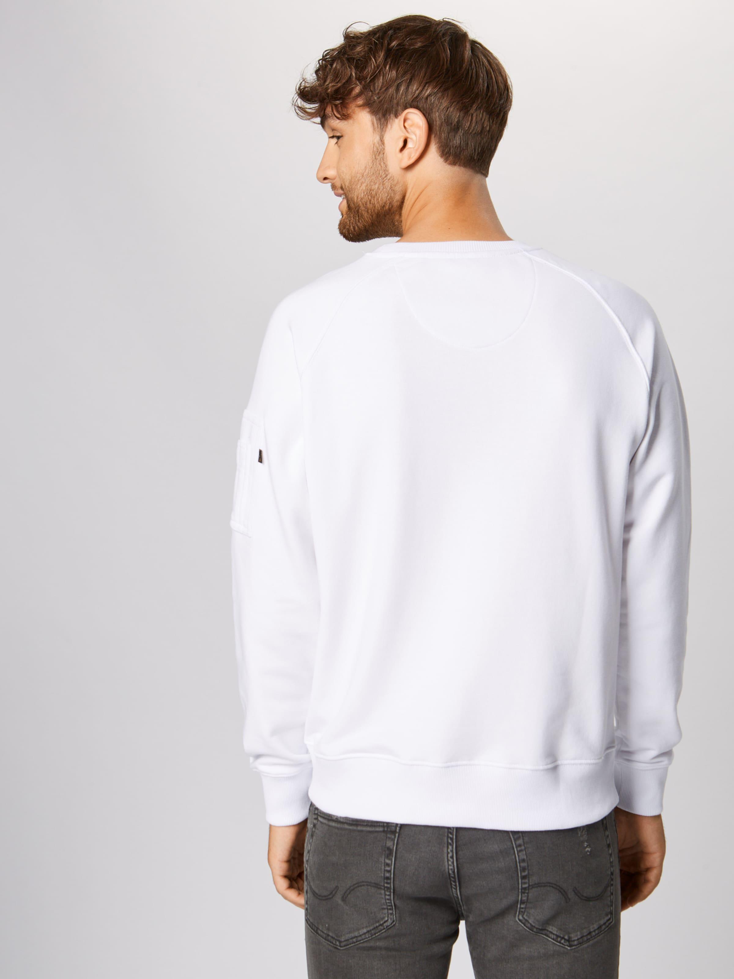 In Weiß Industries Alpha Sweatshirt Owk80XNPZn