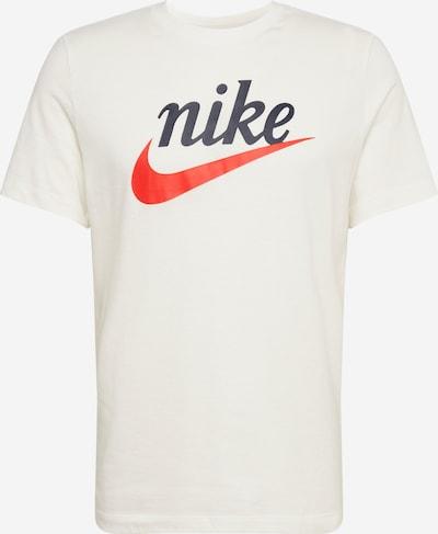 Nike Sportswear Tričko 'Heritage' - černá / bílá, Produkt