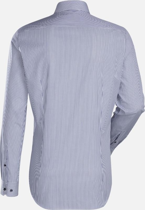 Britt City Jacques hemd Blau Slim Fit wZdq7P