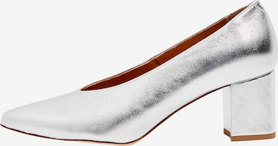 RISA Pumps in silber: Frontalansicht