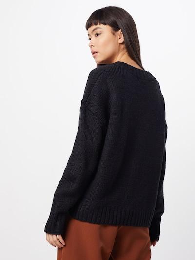 GLAMOROUS Sweter 'KA6477' w kolorze czarnym: Widok od tyłu