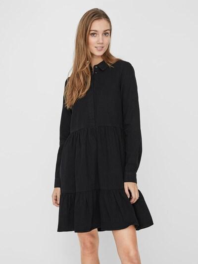 Abito camicia 'MARIA' VERO MODA di colore nero denim, Visualizzazione modelli