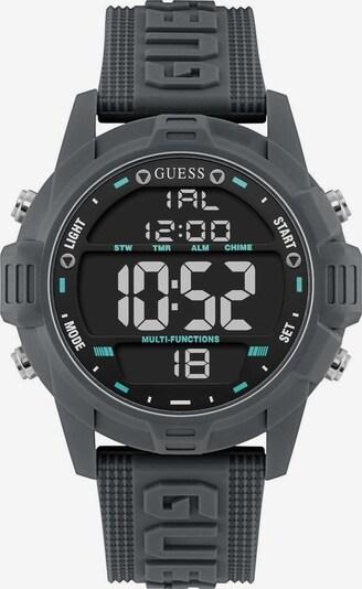GUESS Digitaluhr 'Charge W1299G5' in grau, Produktansicht