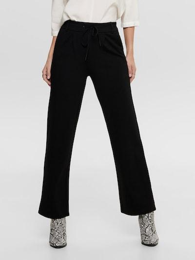 ONLY Pantalon en noir, Vue avec modèle
