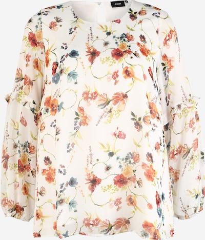 Zizzi Bluzka 'MSINAS' w kolorze mieszane kolory / białym, Podgląd produktu