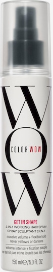 Color WOW Haarspray 'Get In Shape' in schwarz / transparent / weiß, Produktansicht
