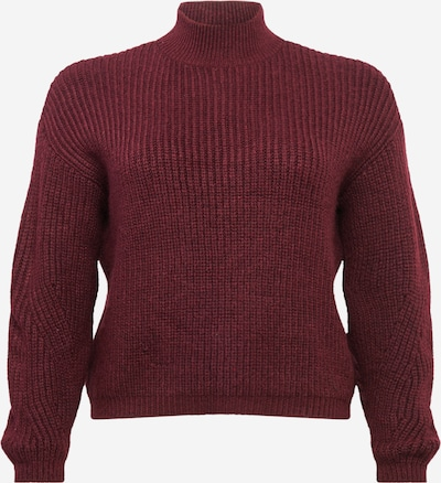 Guido Maria Kretschmer Curvy Collection Pullover 'Lena' in bordeaux, Produktansicht