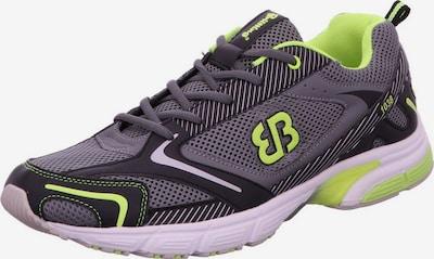 Brütting Lage schoen in de kleur Neongeel / Donkergrijs / Wit, Productweergave