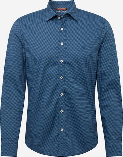 Marc O'Polo Hemd in taubenblau / himmelblau / hellblau, Produktansicht