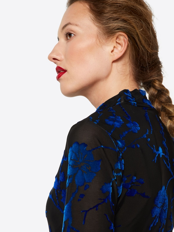 Mbym Shirt 'Tina' in blau   schwarz schwarz schwarz  Markenkleidung für Männer und Frauen 23c880