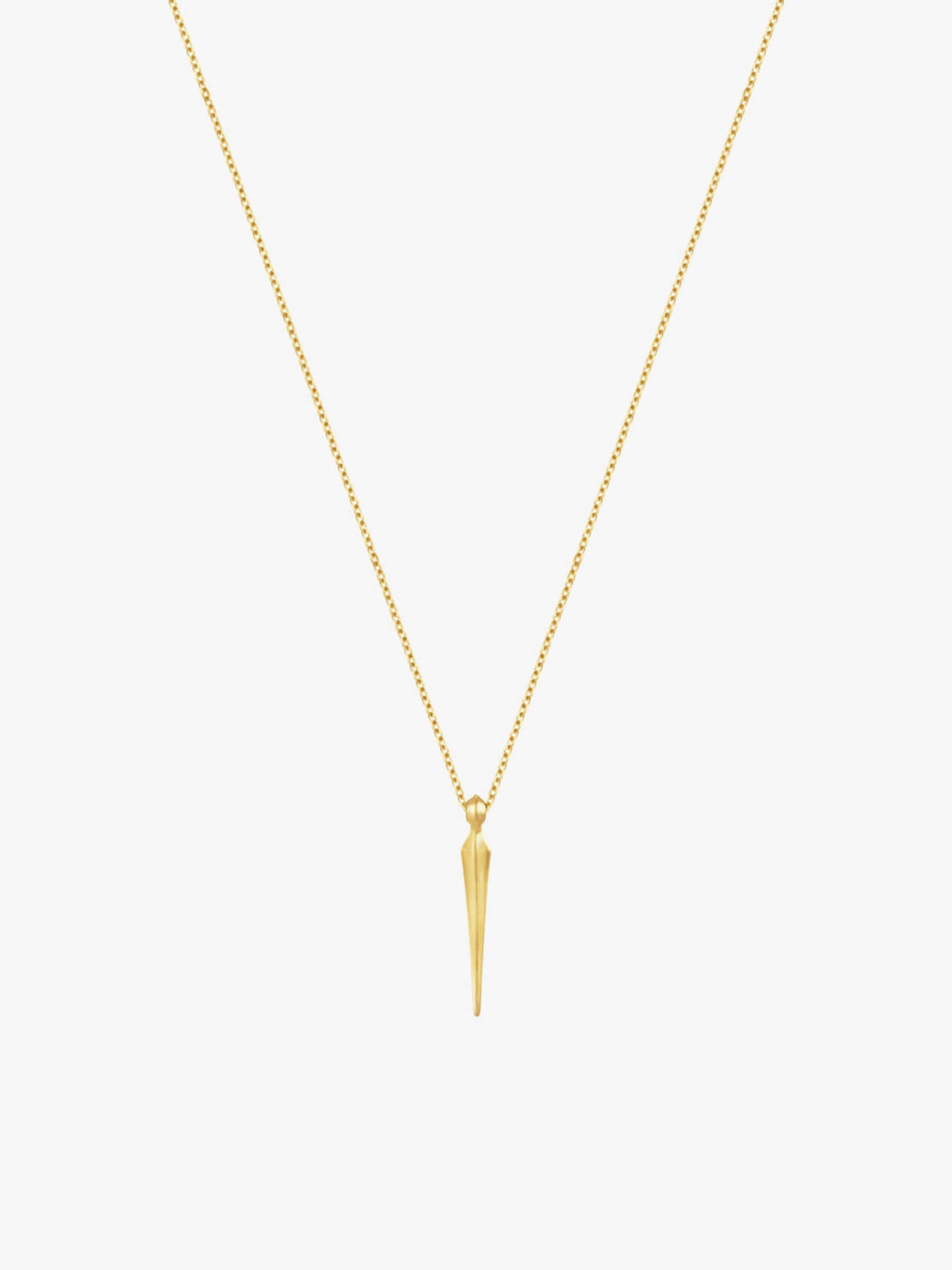 In Id Id In Gold Id Fine Halskette Fine Halskette Gold nOPk08w