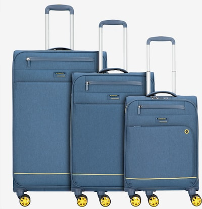 March15 Trading Kofferset 'Shorttrack' in himmelblau, Produktansicht
