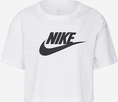 Nike Sportswear Тениска в черно / бяло, Преглед на продукта