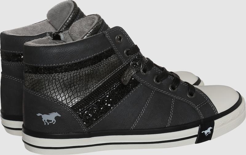 MUSTANG mit Sneaker mit MUSTANG Glitzerdetails Verschleißfeste billige Schuhe fc2f21