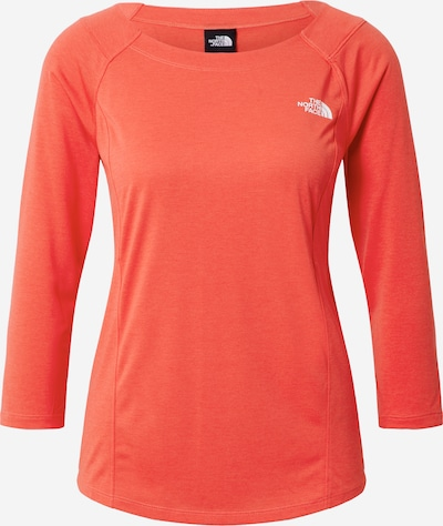 THE NORTH FACE T-shirt fonctionnel 'HIKESTELLER' en rouge vif, Vue avec produit