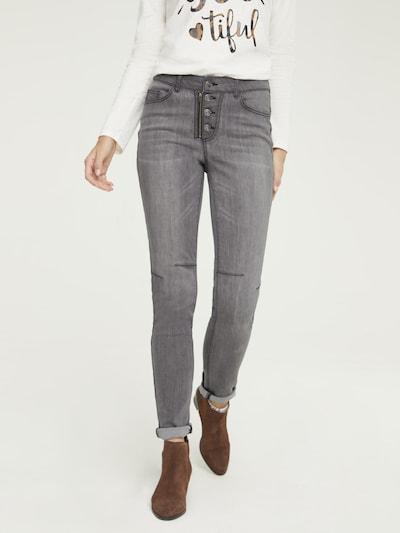 heine Jeans 'Aleria' in grey denim, Modelansicht