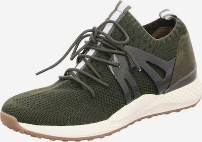 Franz Ferdinand Sneaker in grau / grün, Produktansicht