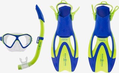Aqua Lung Sport Schnorchelset 'Urchin' in blau / neongrün, Produktansicht