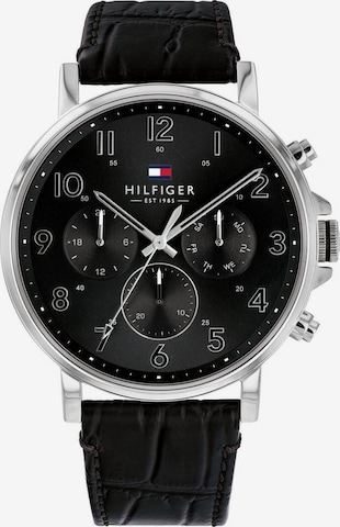 TOMMY HILFIGER Analog Watch 'Dressed Up, 1710381' in Black