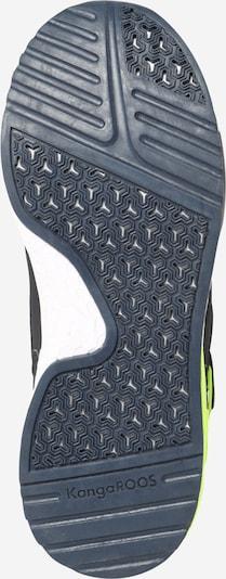 KangaROOS Sneaker 'Kadee Taro RTX' in navy / limette: Ansicht von unten
