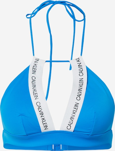 Calvin Klein Swimwear Bikinitop in blau, Produktansicht