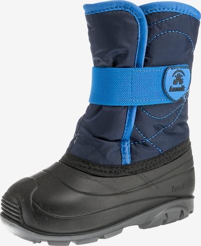 Kamik Winterstiefel in blau / schwarz, Produktansicht