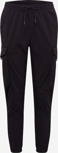 JACK & JONES Nohavice 'JJIGORDON JJFLAKE CARGO PANT AKM BLACK' - čierna, Produkt